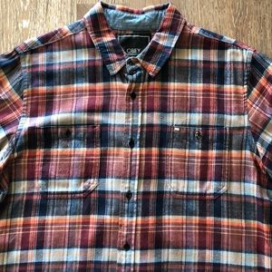 Men's flannel by Obey